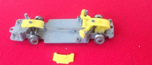Corgi #241 - Original - Ghia L. 6.4 - Baseplate ready to receive a Yellow  Interior